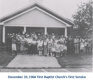 First Baptist Church 1964